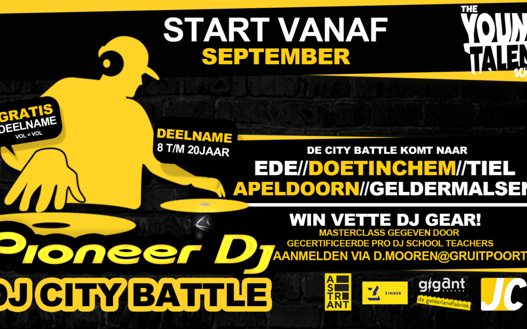 Pioneer Dj 'City Battle'