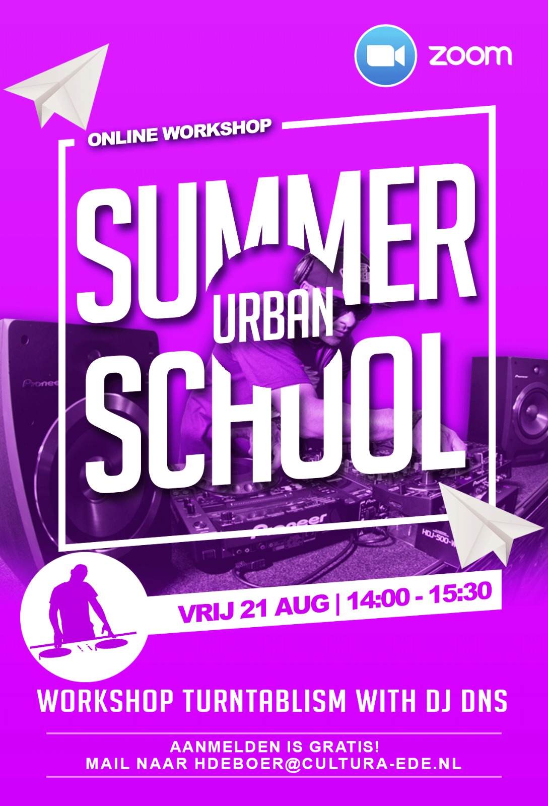 ONLINE Summerschool 'Turntablism'